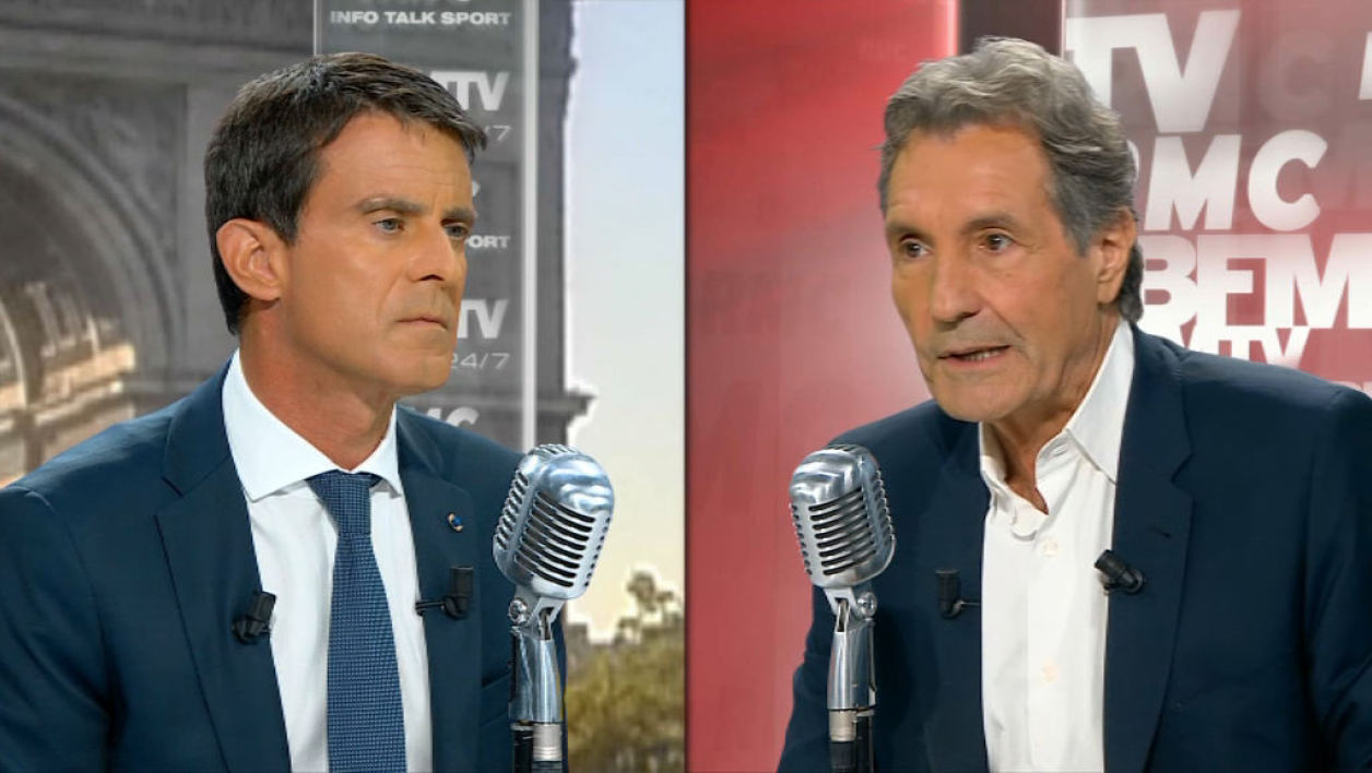 Manuel Valls face à Jean-Jacques Bourdin: les tweets de l'interview
