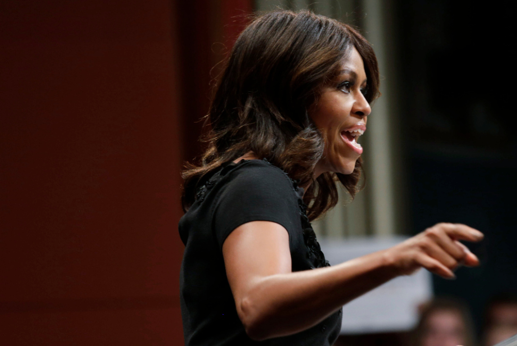 Michelle Obama, le 7 octobre 2014.