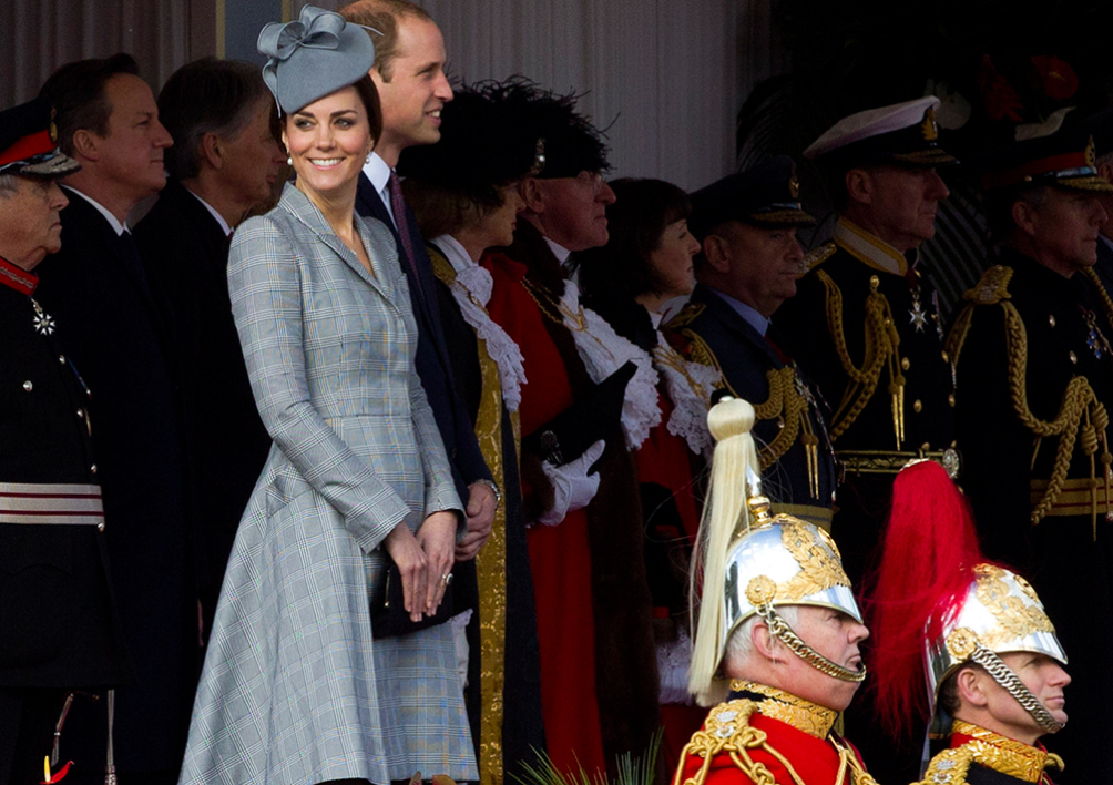 Kate Middleton, la duchesse de Cambridge, le 21 octobre 2014.