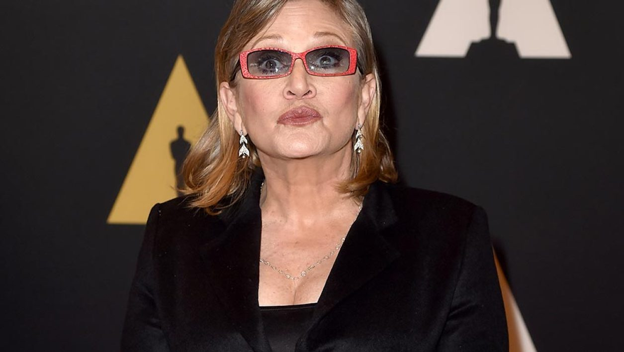 Carrie Fisher en novembre 2015.