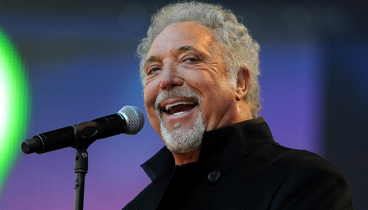 Tom Jones, le 12 septembre 2010