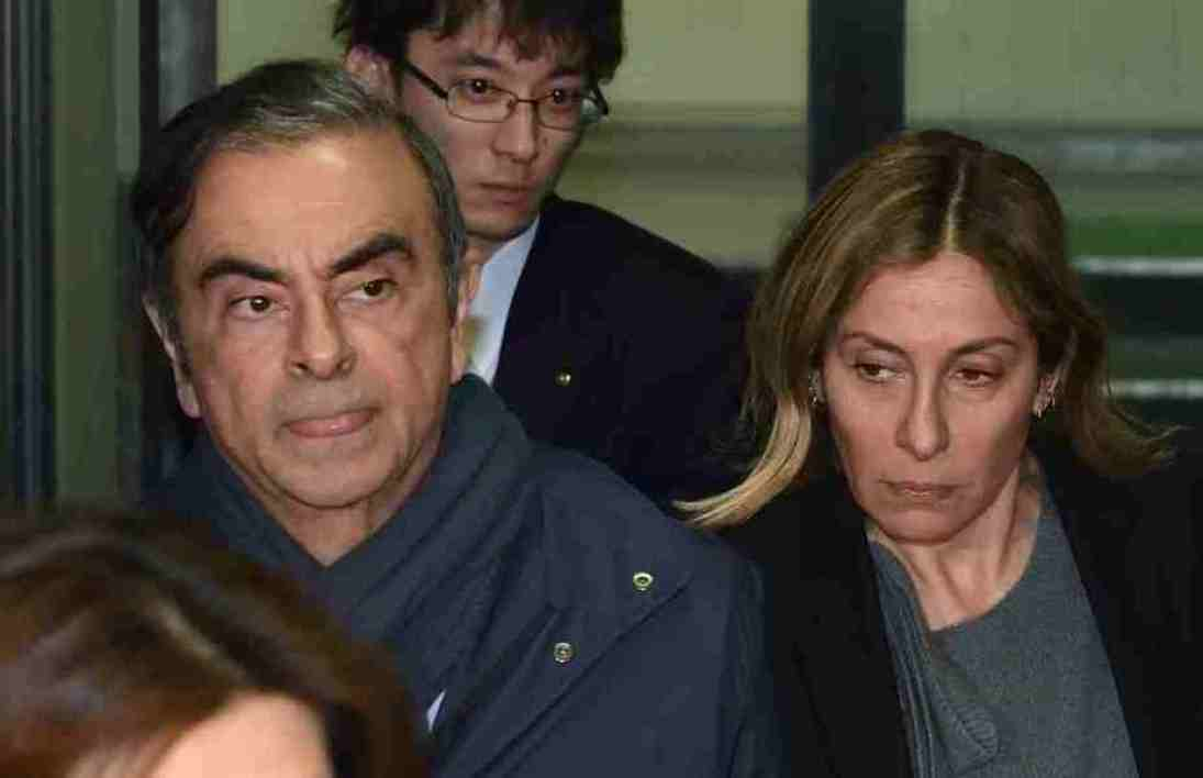 Carlos et Carole Ghosn