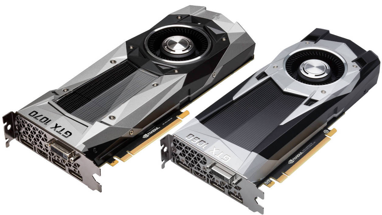 Nvidia GeForce GTX 1070 and GTX 1060