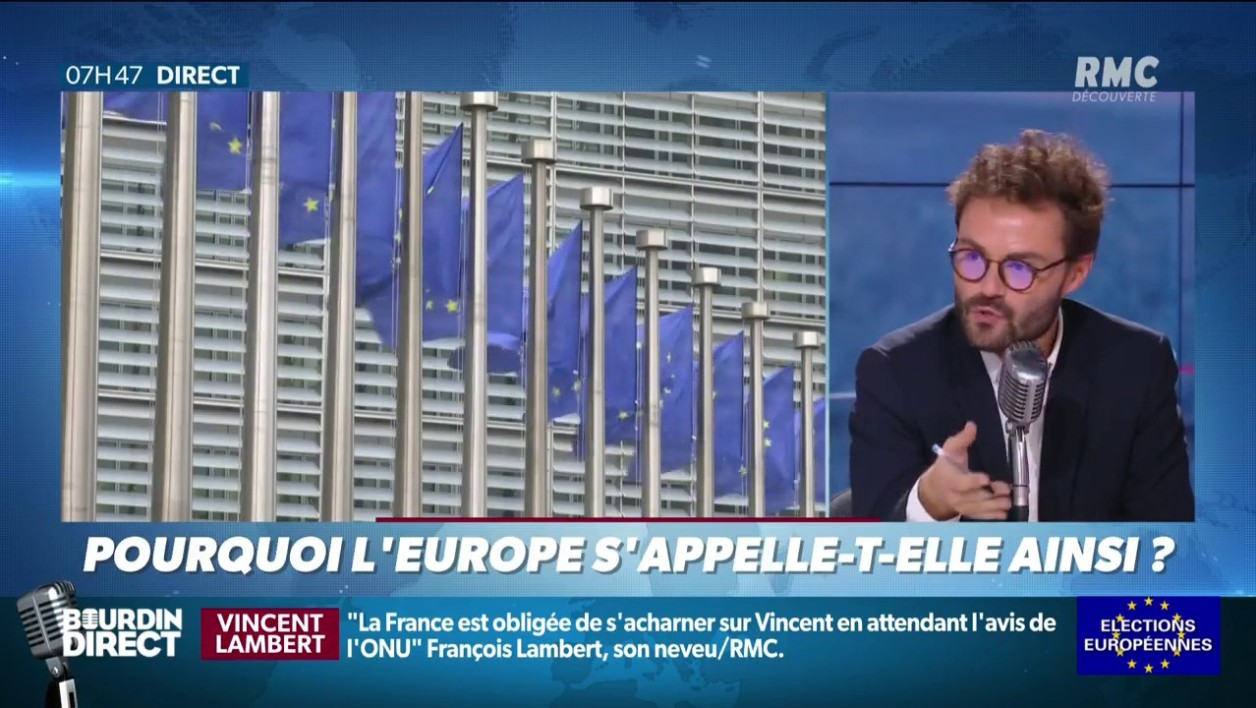 L'Europe en question(s): d'où vient le nom Europe?