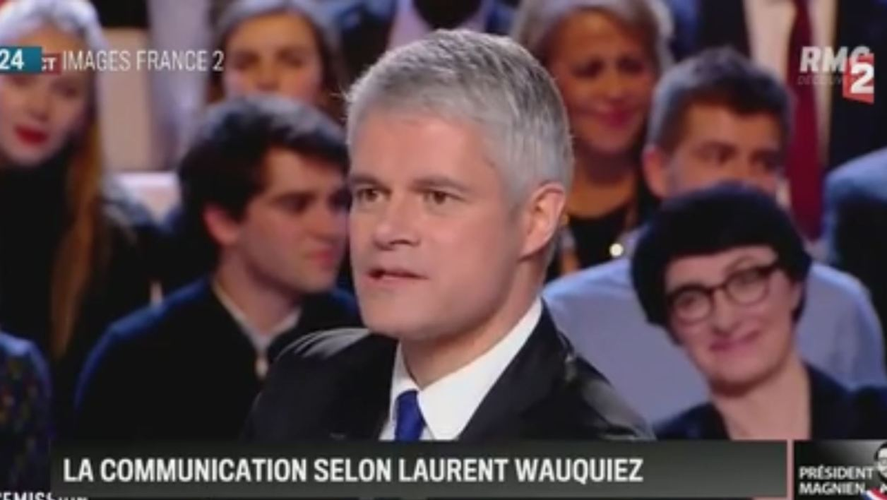 Laurent Wauquiez sur France 2
