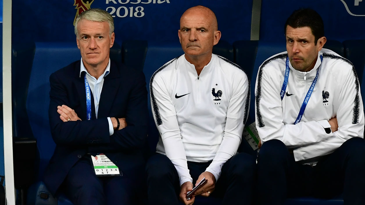 Deschamps et staff