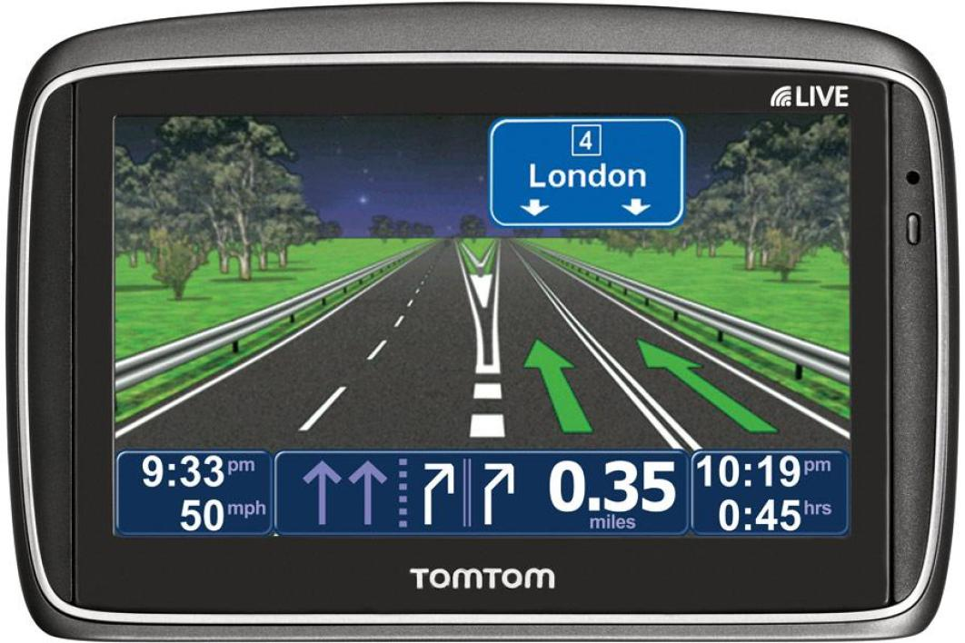 carte europe tomtom go live 750
