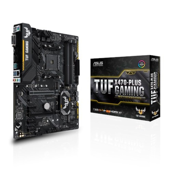 Fiche technique ASUS TUF X470-PLUS GAMING