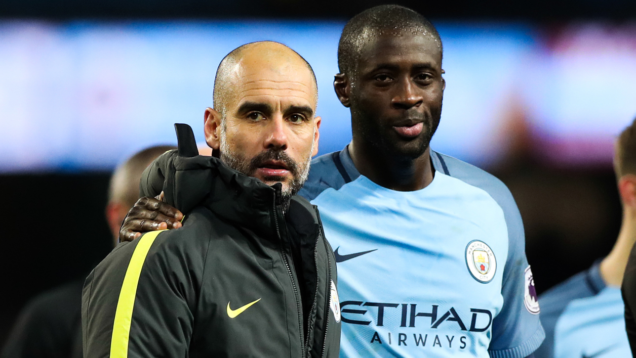 Guardiola Yaya Touré