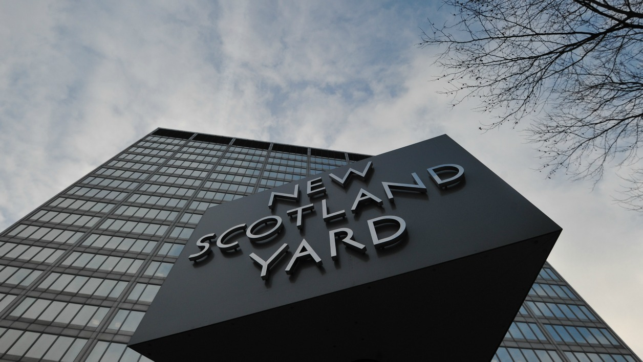Le siège de Scotland Yard. - CARL COURT / AFP Commenter 0