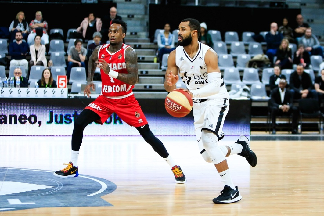 ASVEL-Monaco en Jeep Elite