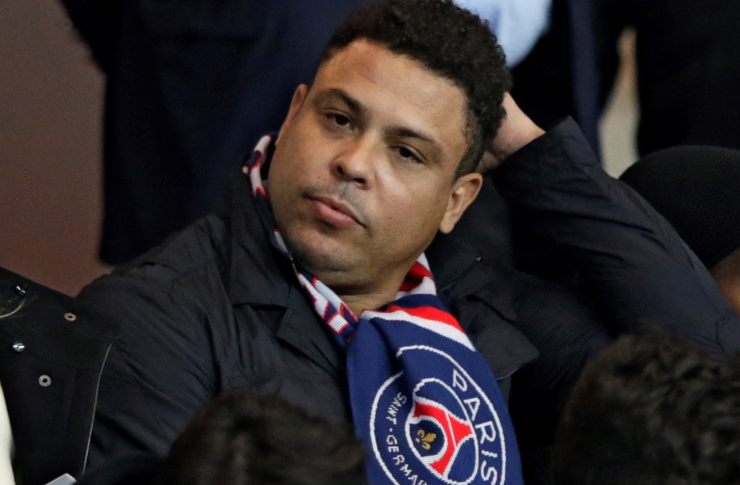 PSG-Real: Ronaldo, Deschamps et Eto'o en tribunes