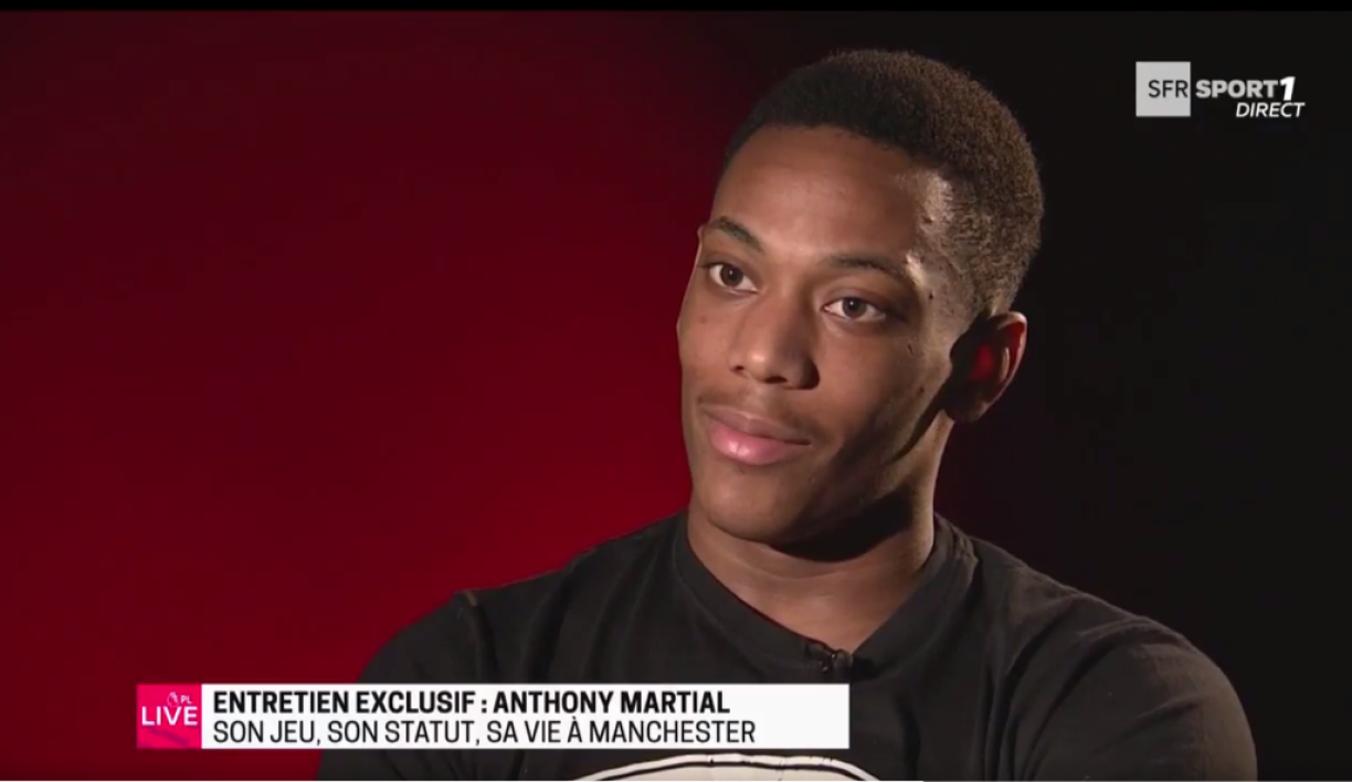 VIDEO - Son plus beau but avec Manchester United, son statut, les Bleus… les confessions d'Anthony Martial