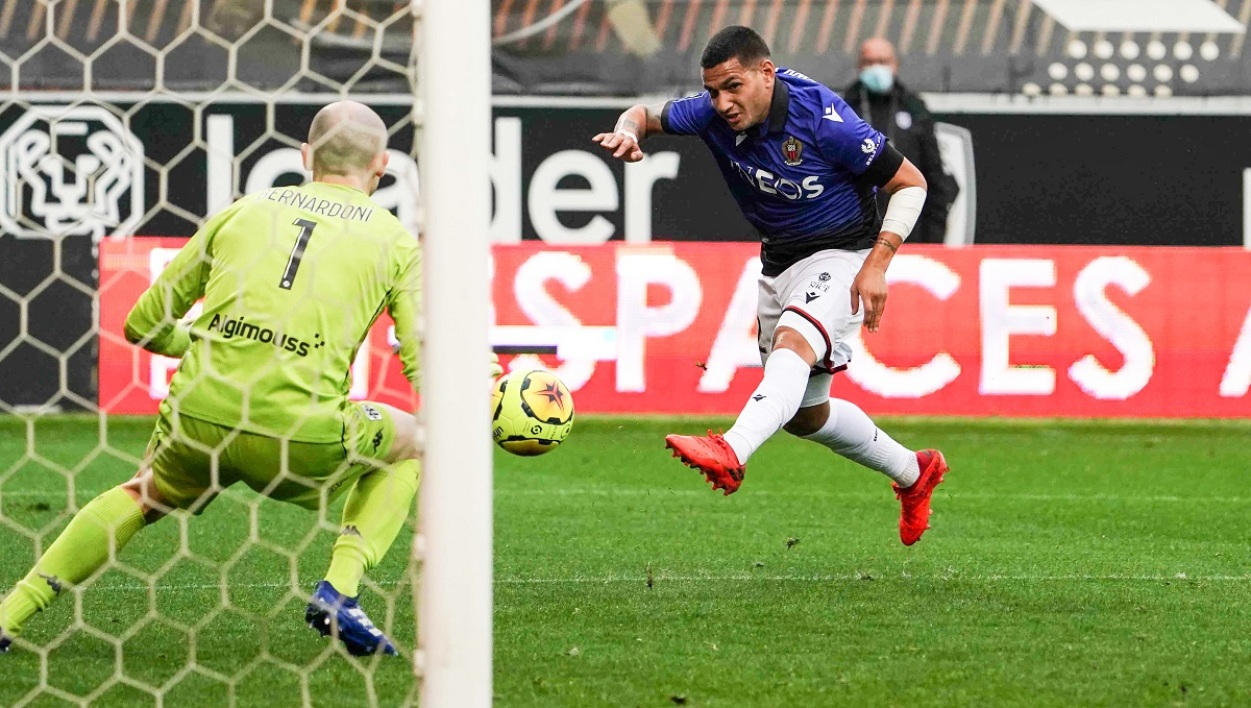 Rony Lopes lors d'Angers-Nice