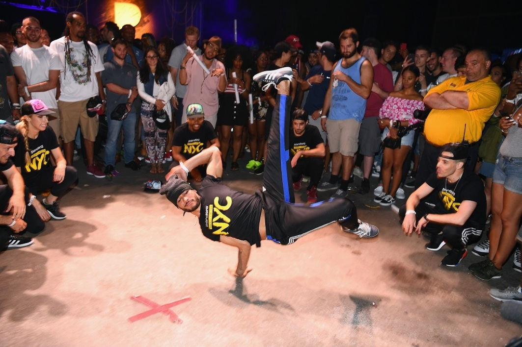 Un show de breakdance