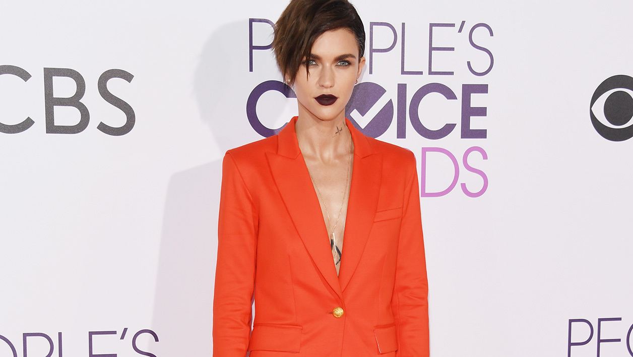 L'actrice Ruby Rose aux People Choice Awards en janvier 2017