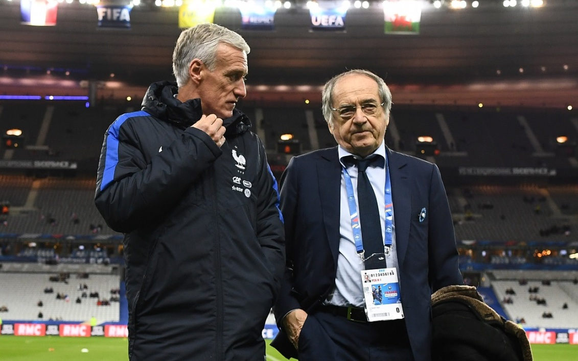Deschamps et Le Graët