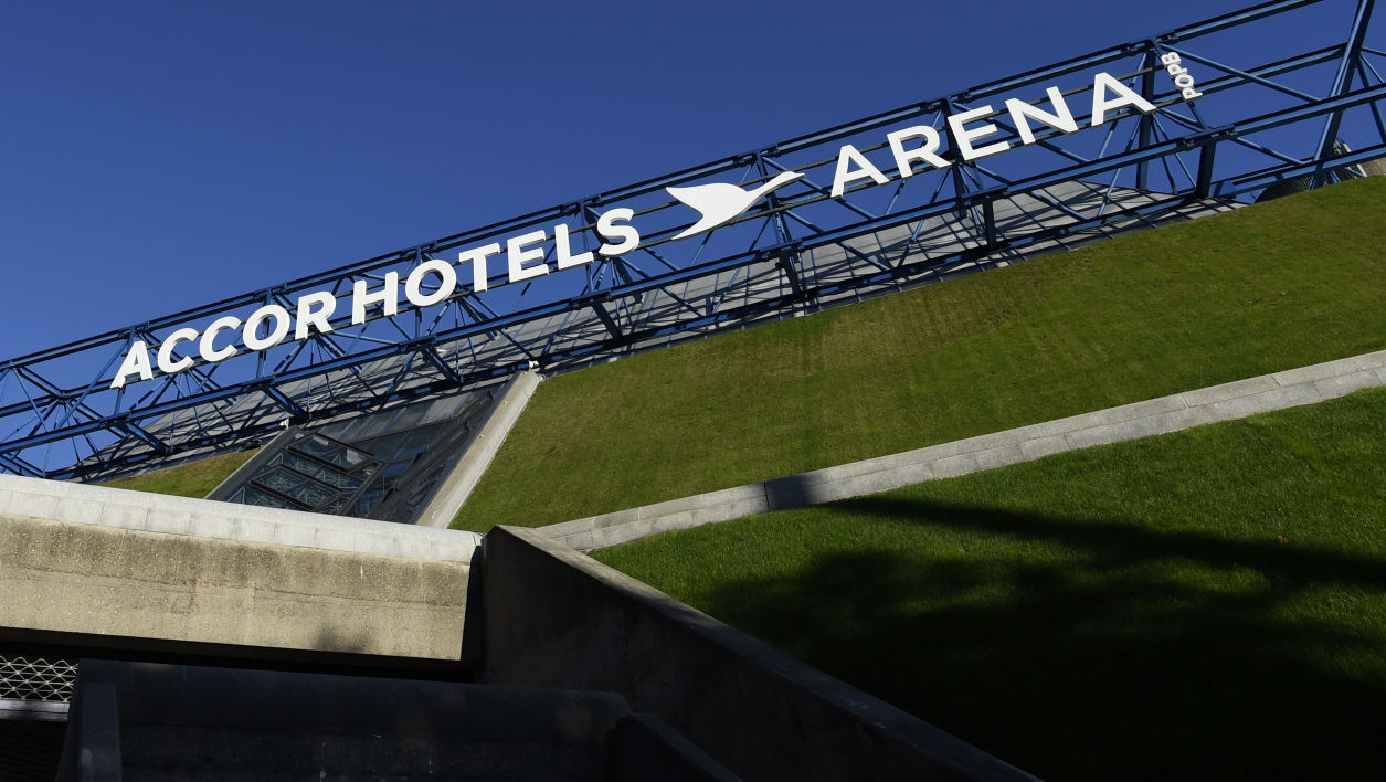Le AccorHotels Arena à Paris