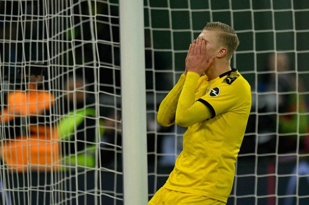 Erling Haaland accuse le coup