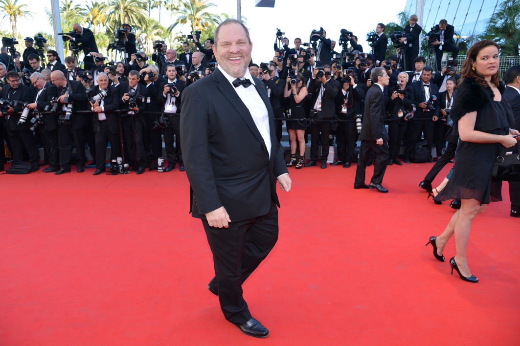Harvey Weinstein à Cannes en 2012