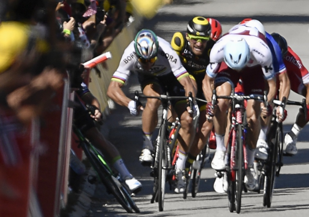Peter Sagan, exclu du Tour de France