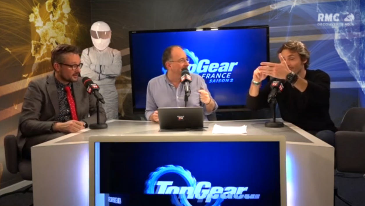 Top Gear France live vidéo