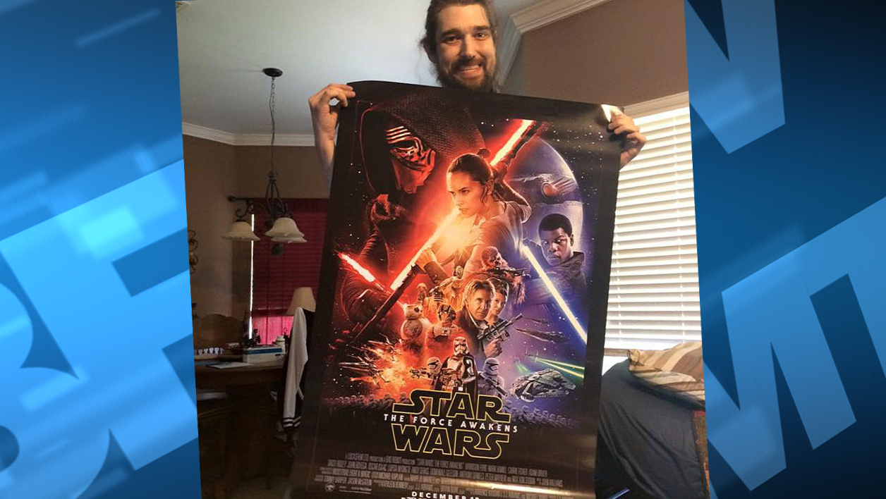 Star Wars fan mourant Daniel Fleetwood