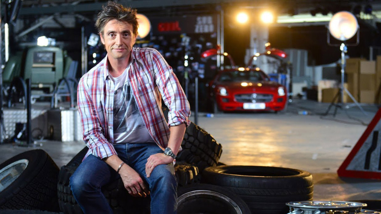 Richard Hammond a été victime d'un accident de la route