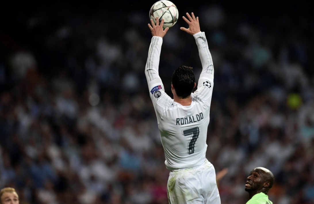 Real Madrid-Man City : le dunk de Ronaldo