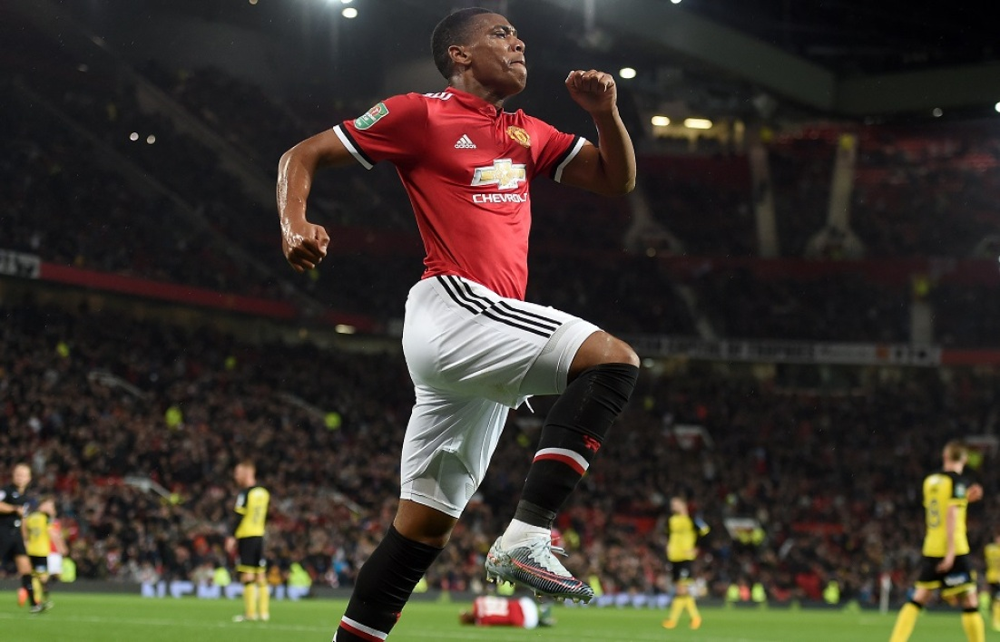MU : Thierry Henry encense Anthony Martial