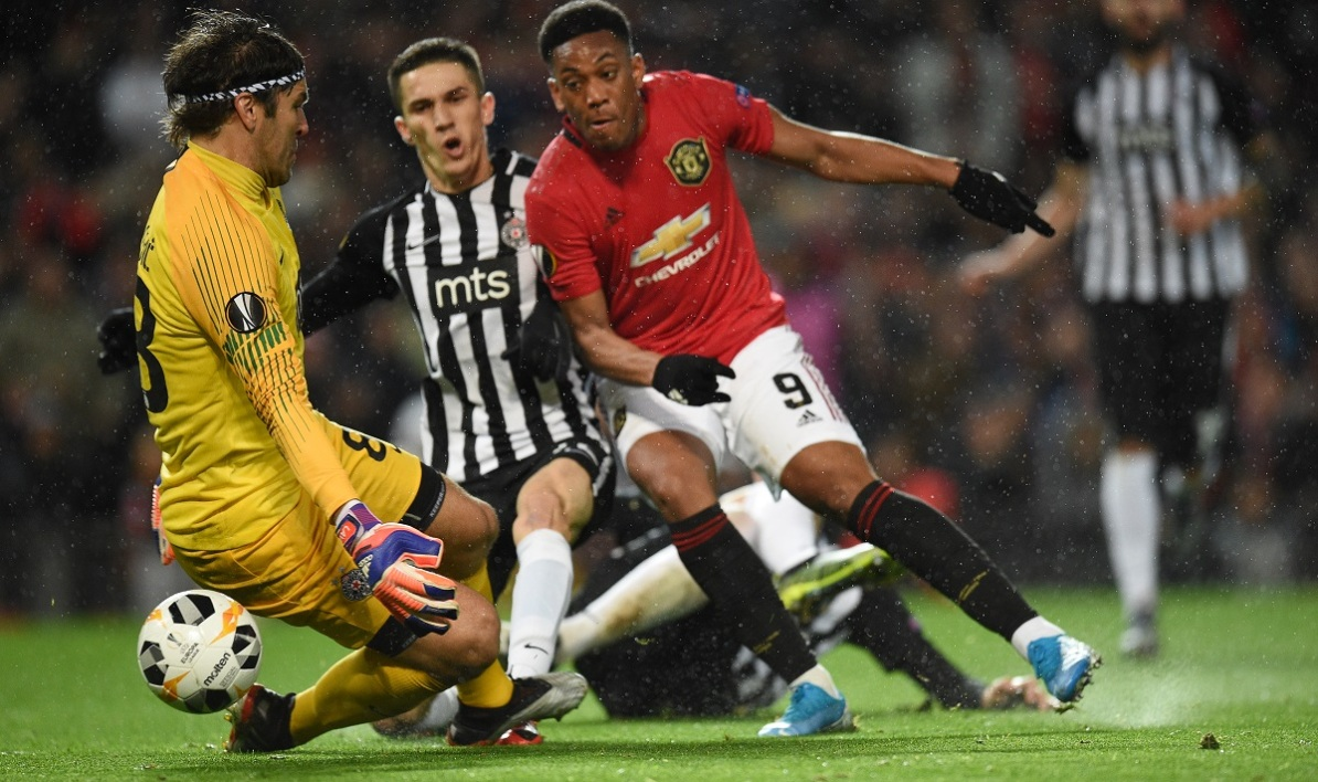 Manchester United-Partizan
