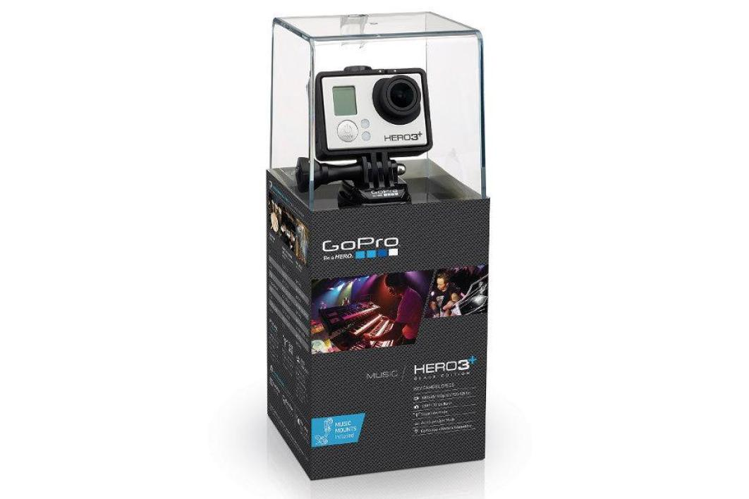 GoPro Hero 3+ Black Edition/Music