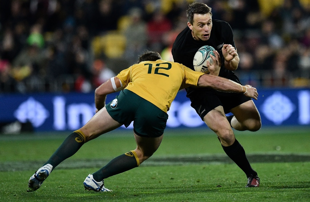 Ben Smith sous le maillot des All Black