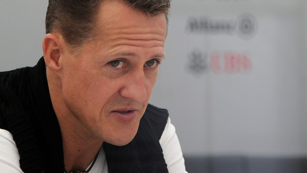 Michael Schumacher en octobre 2012.