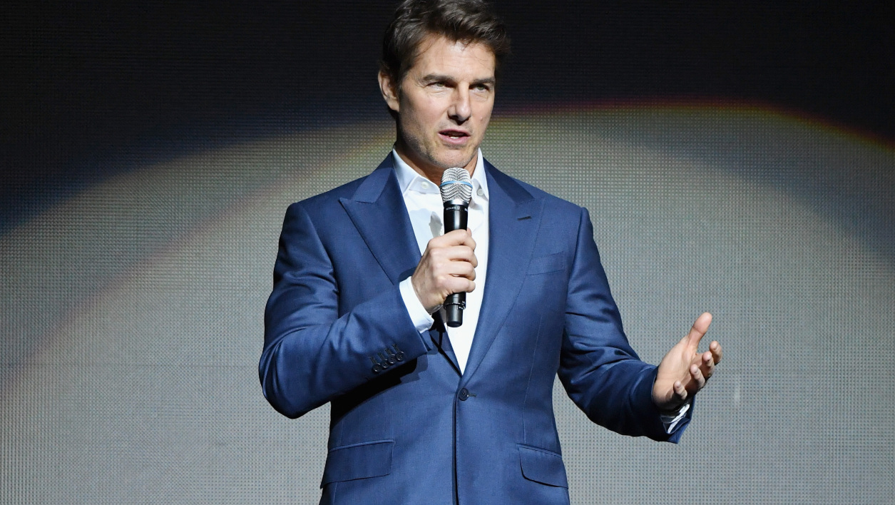 Tom Cruise en avril 2018 à Las Vegas