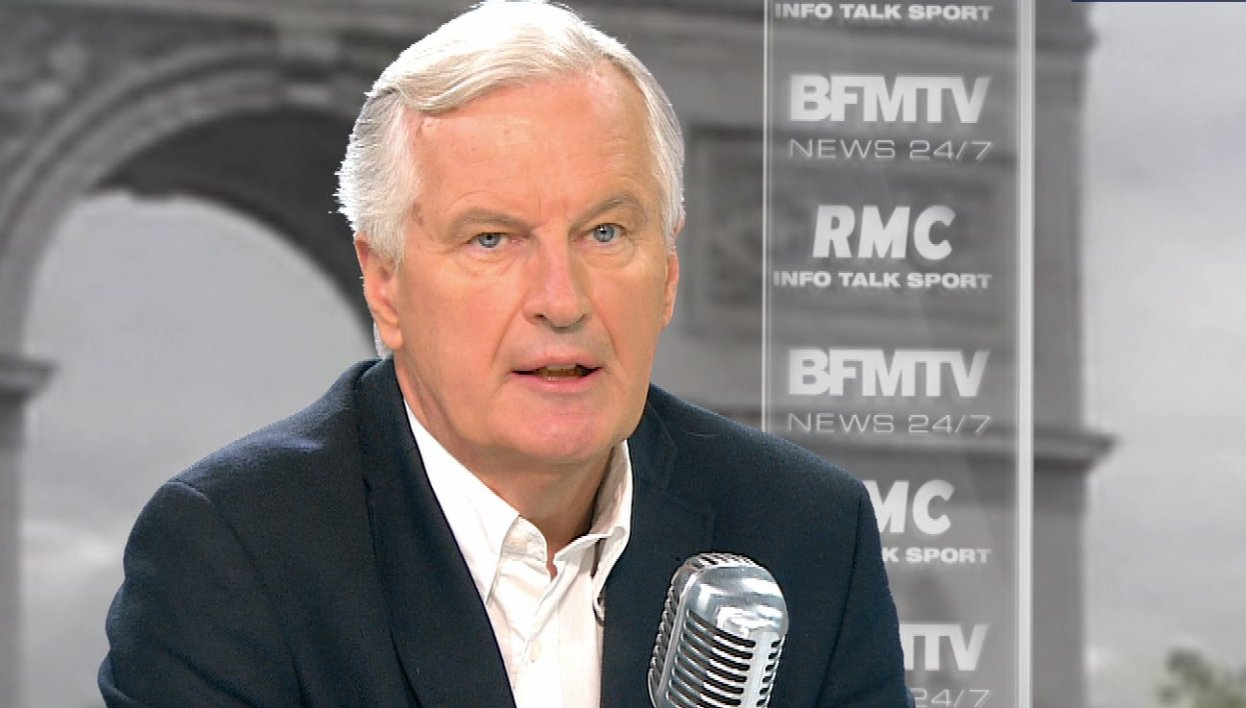 Michel Barnier face à Apolline de Malherbe : le live tweet de l'interview