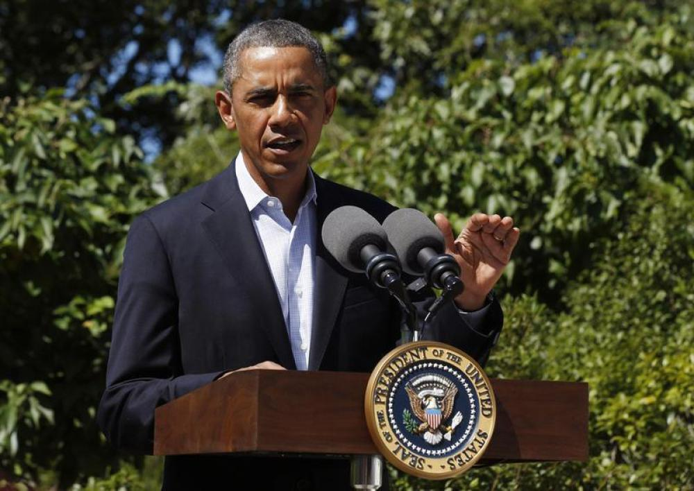 BARACK OBAMA CONDAMNE LES VIOLENCES EN ÉGYPTE