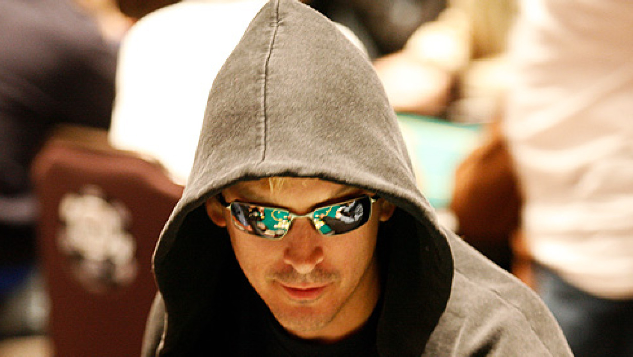 WPT Poker Legends, Phil Laak en bonne posture.