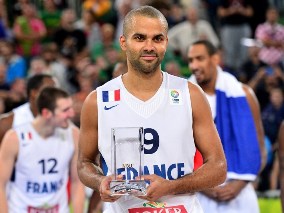 Tony Parker champion d'Europe et MVP de l'Euro