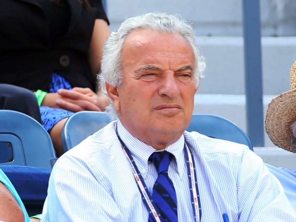 Francesco Ricci Bitti, président de la fédération internationale de tennis