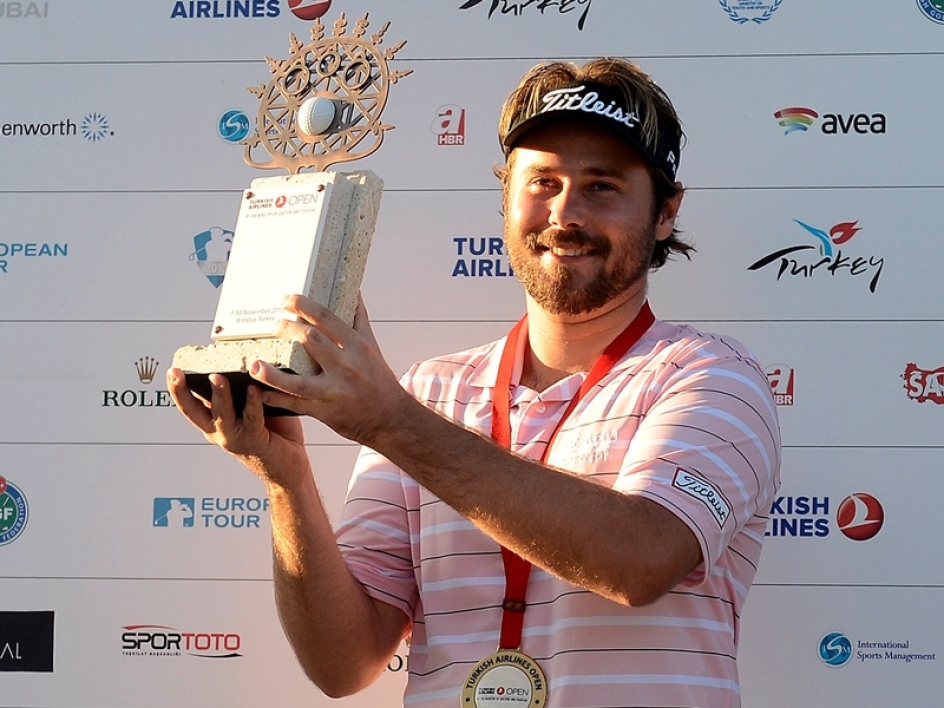 Victor Dubuisson vainqueur du Turkish Open