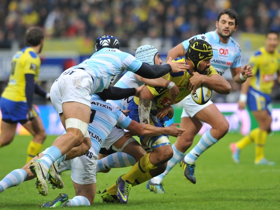 Clermont étrille le Racing