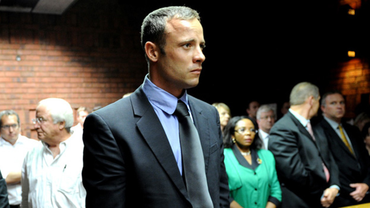 "Oscar Pistorius a plaidé ""non coupable""."