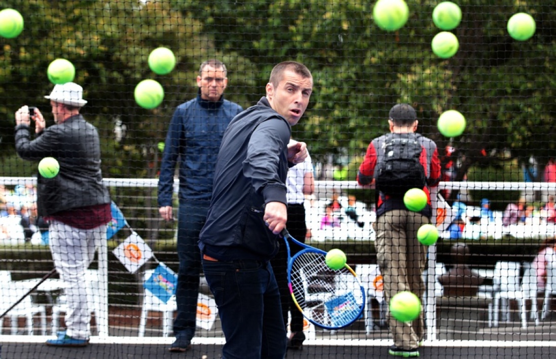 Liam Gallagher, fan de tennis et nouveau fan de course à pied.
