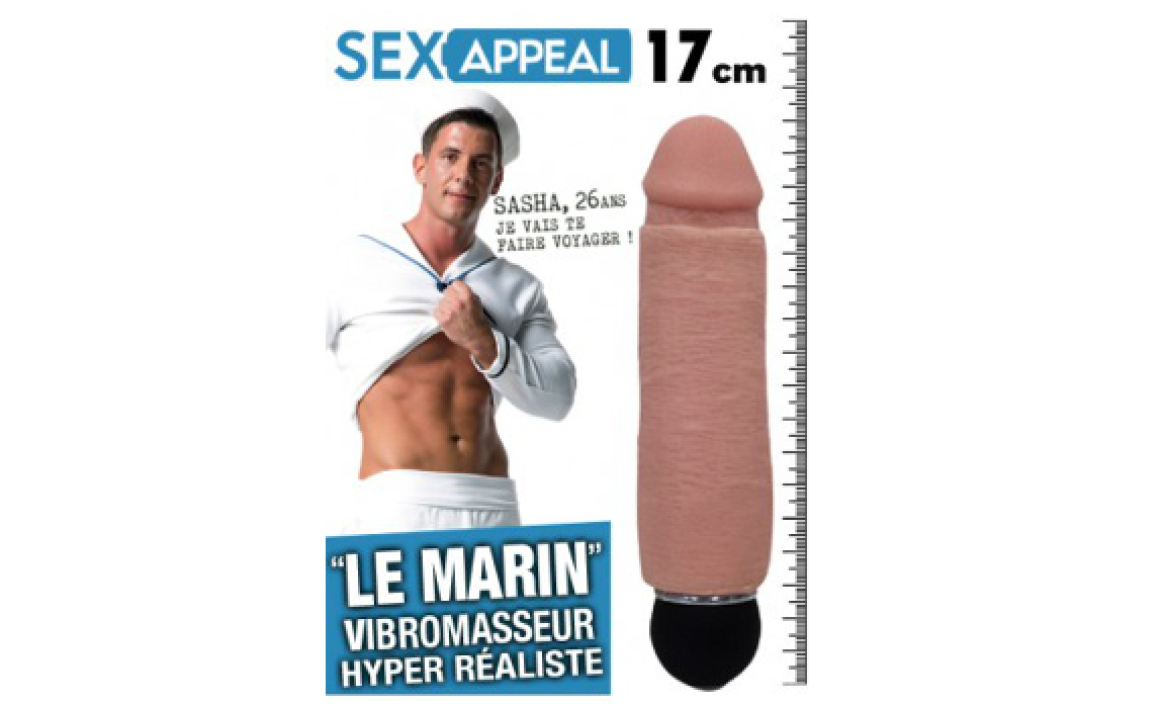 Le vibromasseur Le Marin Sexappeal