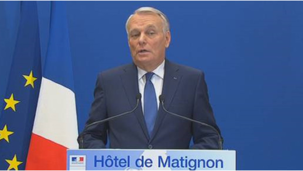 Jean-Marc Ayrault, dimanche 30 mars.
