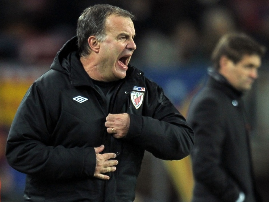 Marcelo Bielsa, l'ancien entraîneur de l'Athletic Bilbao