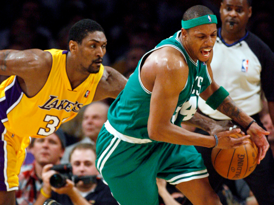 Ron Artest et Paul Pierce