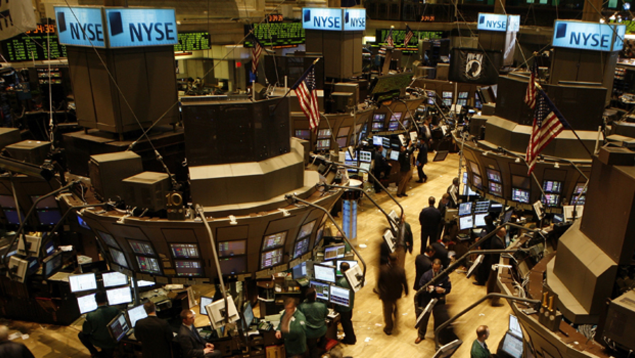 Le New York Stock Exchange, à Wall Street.