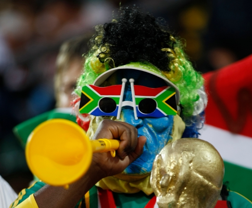 Supporter sud-africain
